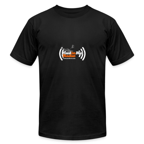 Paul in Rio Radio - Thumbs-up Corcovado #1 - Men's Fine Jersey T-Shirt