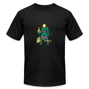 Afronaut - Men's T-Shirt by American Apparel