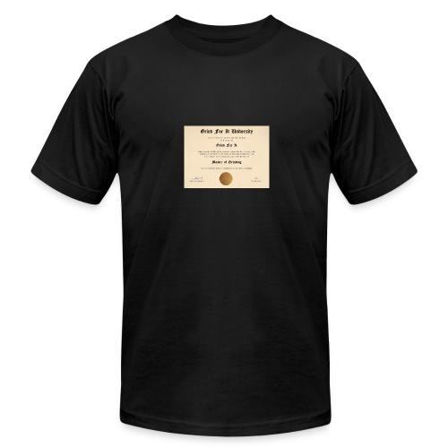 Grind University - Men's Fine Jersey T-Shirt