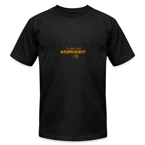 The Independent Life Gear - Men's Fine Jersey T-Shirt