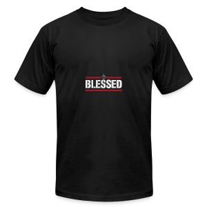 Blessed Tee - Men's T-Shirt by American Apparel