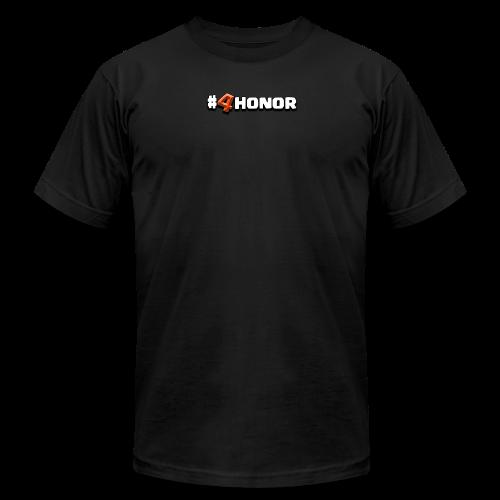 4honor red - Men's Fine Jersey T-Shirt