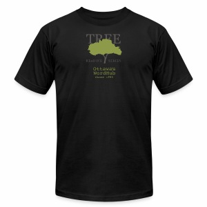 Tree Reading Swag - Men's T-Shirt by American Apparel