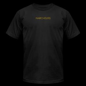 Marcheurs Gold - Men's Fine Jersey T-Shirt