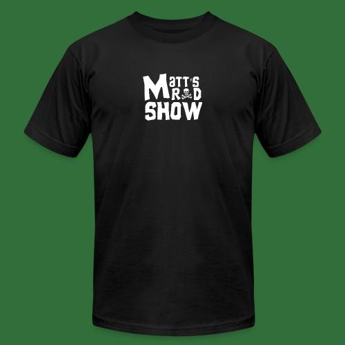Matt's Rad Show Original Logo. - Men's Fine Jersey T-Shirt