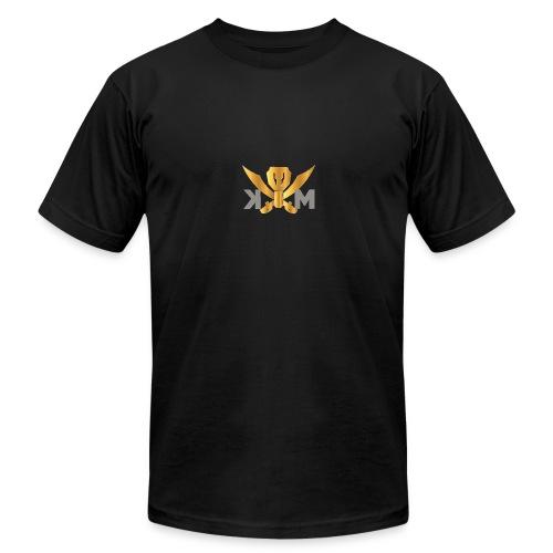 Channel logo - Men's Fine Jersey T-Shirt