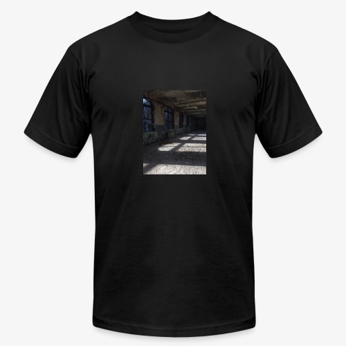 Abandon Prison Broken window room - Men's Fine Jersey T-Shirt