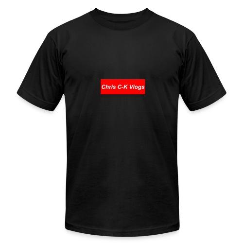 Chris C-K Vlogs - Men's Fine Jersey T-Shirt