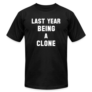 C-LONE THUG - Men's T-Shirt by American Apparel
