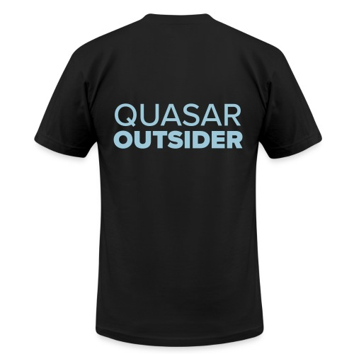 Quasar Outsider logo - Men's  Jersey T-Shirt