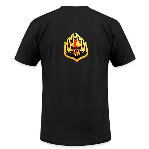 ListenTunes Fire Skull - Men's Fine Jersey T-Shirt
