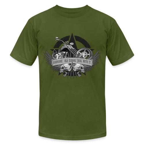 Hardcore. Old School. Deal With It. - Men's  Jersey T-Shirt