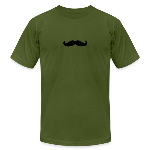 mustache - Unisex Jersey T-Shirt by Bella + Canvas
