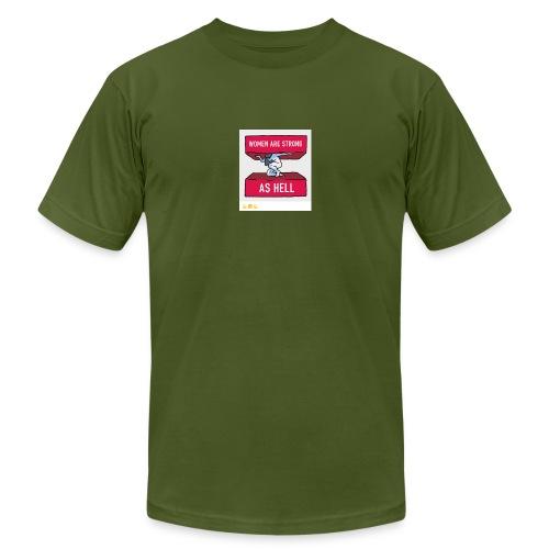 women are strong as hell - Men's Jersey T-Shirt