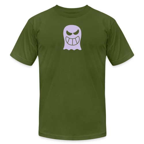 Naughty Halloween Ghost - Unisex Jersey T-Shirt by Bella + Canvas