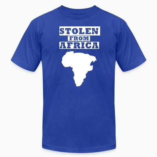 SFA LOGO WHITE - Unisex Jersey T-Shirt by Bella + Canvas