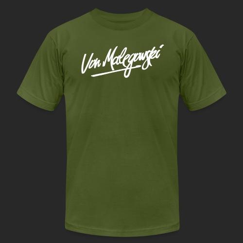 Von Malegowski 1 white png - Unisex Jersey T-Shirt by Bella + Canvas