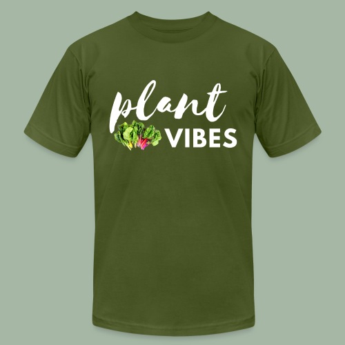 Plant Vibes - Unisex Jersey T-Shirt by Bella + Canvas