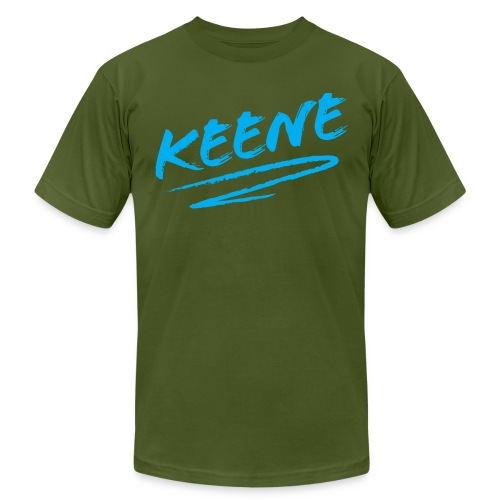 keene blue - Unisex Jersey T-Shirt by Bella + Canvas