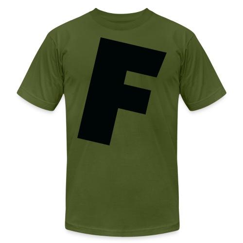 F slanted - Men's  Jersey T-Shirt