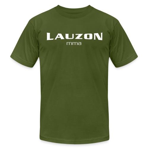 lauzonmma logo svg - Unisex Jersey T-Shirt by Bella + Canvas