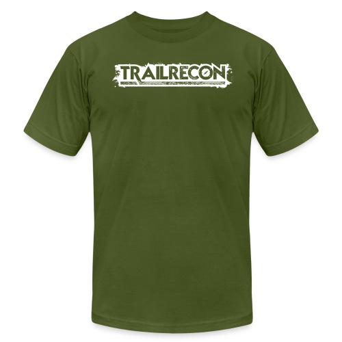 TrailRecon White Trimmed - Men's  Jersey T-Shirt