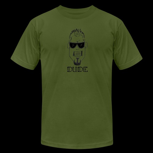 Dude Head 1 - Unisex Jersey T-Shirt by Bella + Canvas