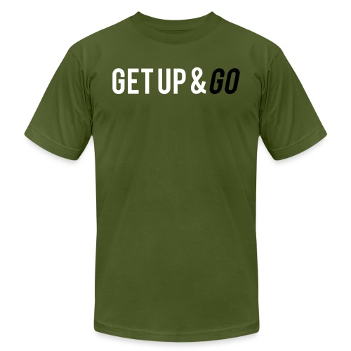 Get Up and Go - Unisex Jersey T-Shirt by Bella + Canvas