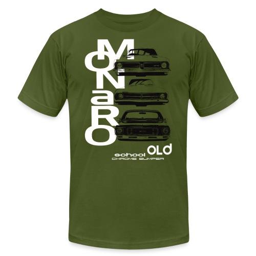 monaro over - Unisex Jersey T-Shirt by Bella + Canvas