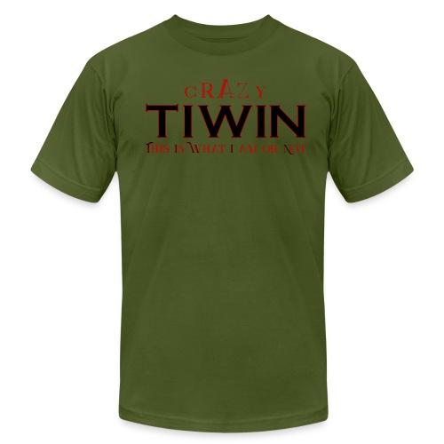 crazy TIWIN red - Men's  Jersey T-Shirt