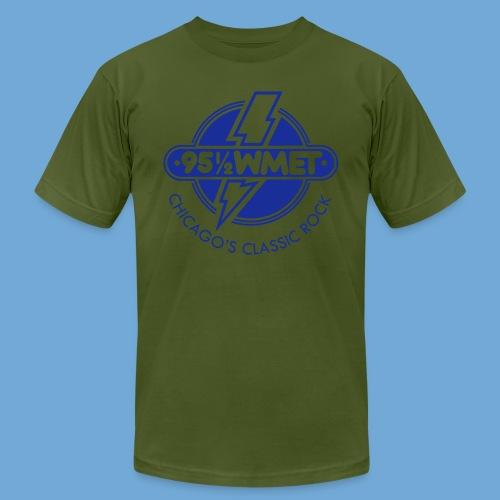 WMET logo (variable color) - Men's  Jersey T-Shirt