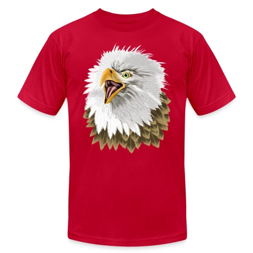 Big, Bold Eagle - Unisex Jersey T-Shirt by Bella + Canvas