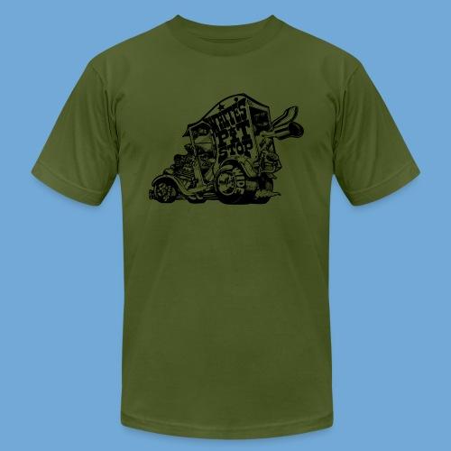 White's Pit Stop - Black - Men's  Jersey T-Shirt