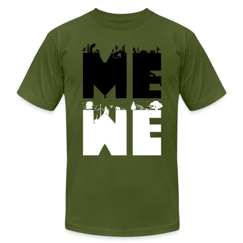 me we - Unisex Jersey T-Shirt by Bella + Canvas