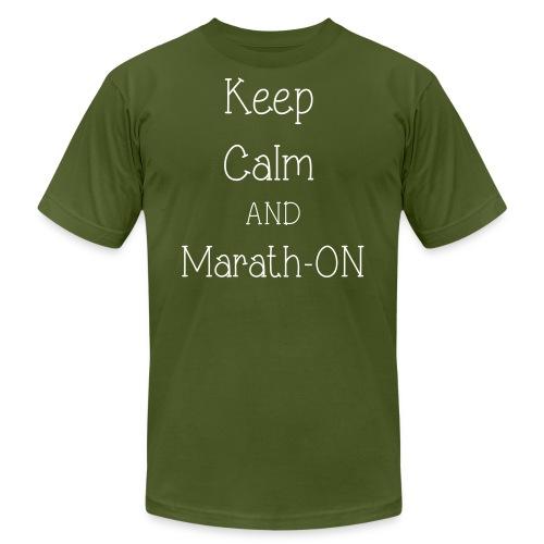 marathon - Unisex Jersey T-Shirt by Bella + Canvas