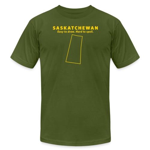 Saskatchewan - Men's Jersey T-Shirt