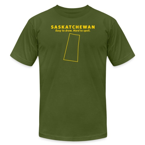 Saskatchewan - Unisex Jersey T-Shirt by Bella + Canvas