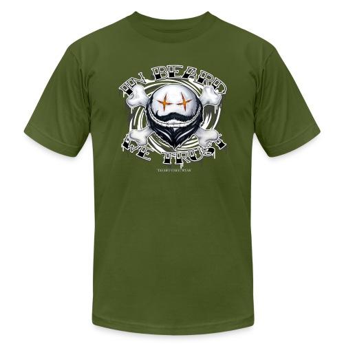in beard we trust - Unisex Jersey T-Shirt by Bella + Canvas