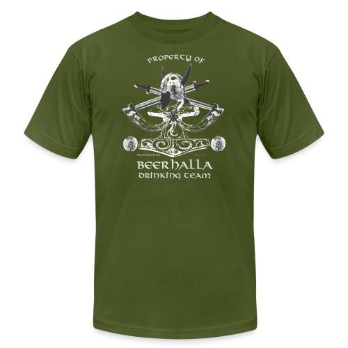 Beerhalla Drinking Team - Unisex Jersey T-Shirt by Bella + Canvas