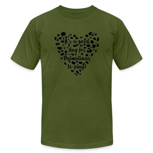 Dalmatians Play - Men's  Jersey T-Shirt
