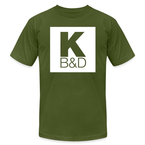 KBD_White - Unisex Jersey T-Shirt by Bella + Canvas