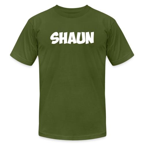 Shaun Logo Shirt - Unisex Jersey T-Shirt by Bella + Canvas