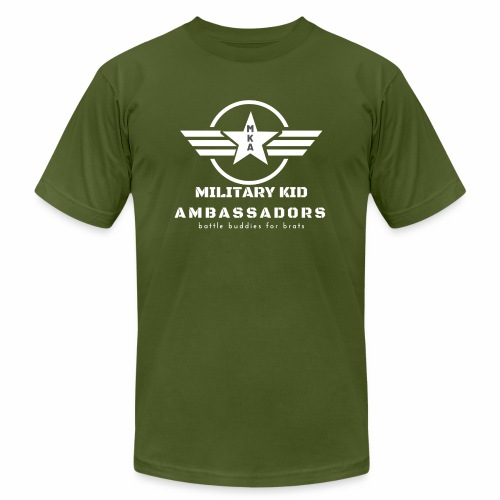 Military Kid Ambassador White - Unisex Jersey T-Shirt by Bella + Canvas