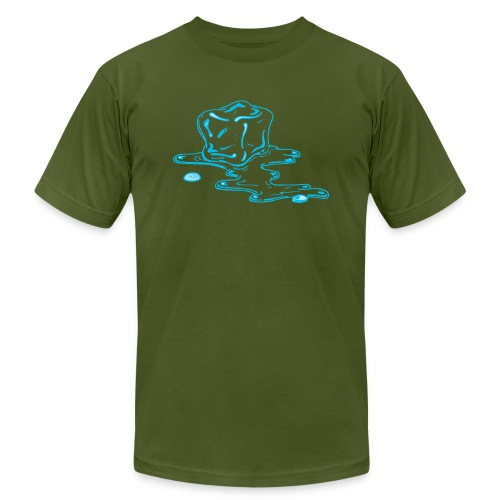 Ice melts - Unisex Jersey T-Shirt by Bella + Canvas
