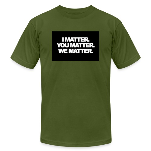 We matter - Men's  Jersey T-Shirt