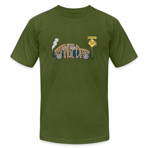 Strange Design - Unisex Jersey T-Shirt by Bella + Canvas
