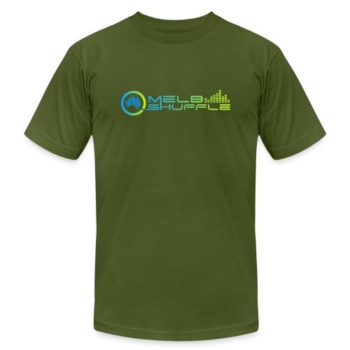 Melbshuffle Gradient Logo - Unisex Jersey T-Shirt by Bella + Canvas