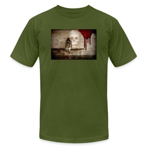 sad girl - Men's  Jersey T-Shirt
