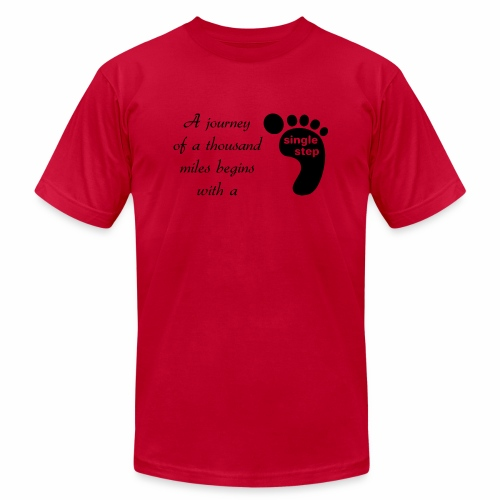 Single Step - Men's  Jersey T-Shirt