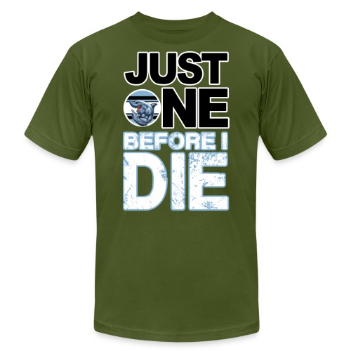 Just One Before I Die B - Men's Jersey T-Shirt